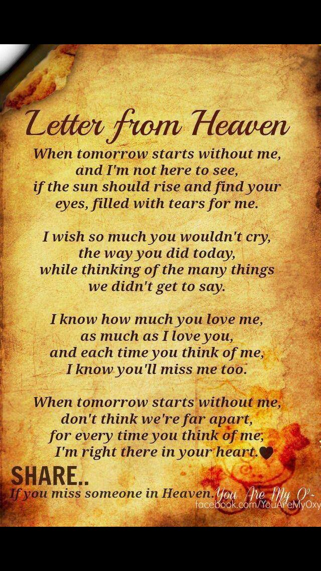 a letter to my dad in heaven 10 best miss my in heaven images on in 28771 | 2f5f2b2c0cec8bd6f92e0e8eab43619d miss you daddy miss my mom