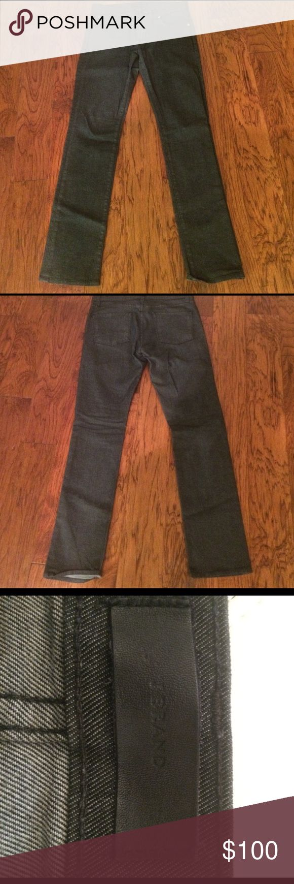 J BRAND -Kane Slim Straight Leg Raw Jeans (Abrams) J BRAND -Kane Slim Straight Leg Raw Jeans (Abrams) - Size 31 PERFECT CONDITION! J Brand Jeans Slim Straight