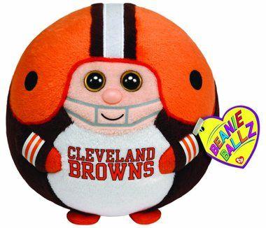 Ty Beanie Ballz Cleveland Browns - NFL Ballz