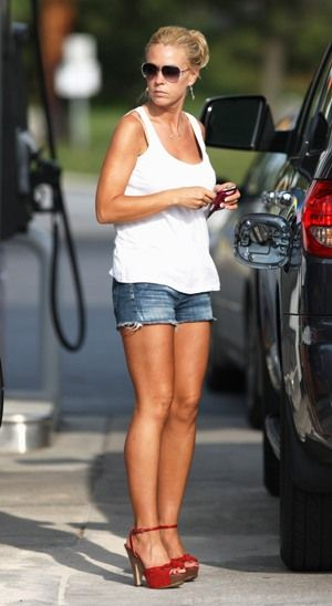 SHORTS AND RED FLIP FLOPS - Google Search