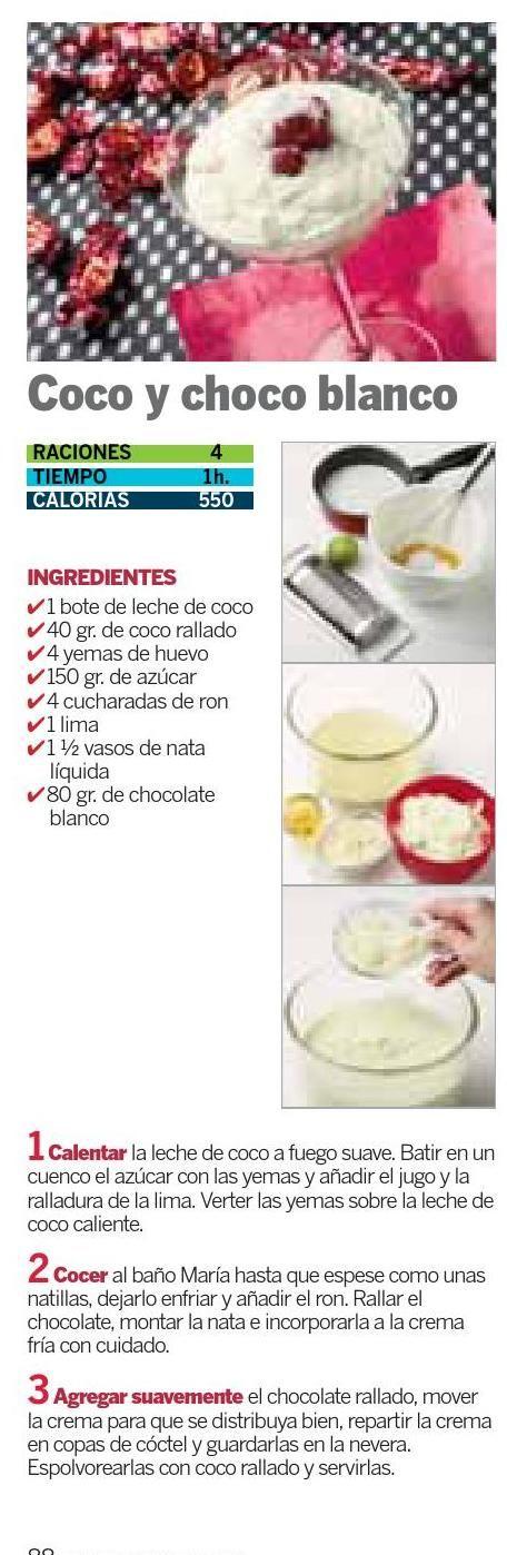 Coco choco loco,  #ClippedOnIssuu from Coleccionable escuela de cocina
