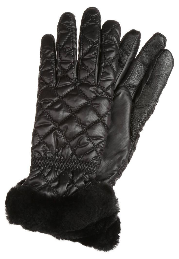 UGG Rękawiczki pięciopalcowe black