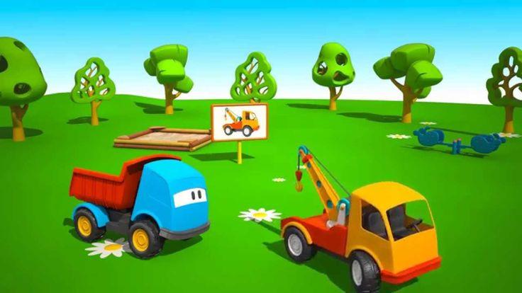 Cartoni Animati per Bambini - Leo il Camion Curioso e il Carroattrezzi