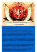 W 1918 r. po 123 latach zaborów państwo polskie odrodziło się i wybiło na niepodległość. Jesienią 1918 r. dobiegała końca I wojna światowa, która przyniosła.