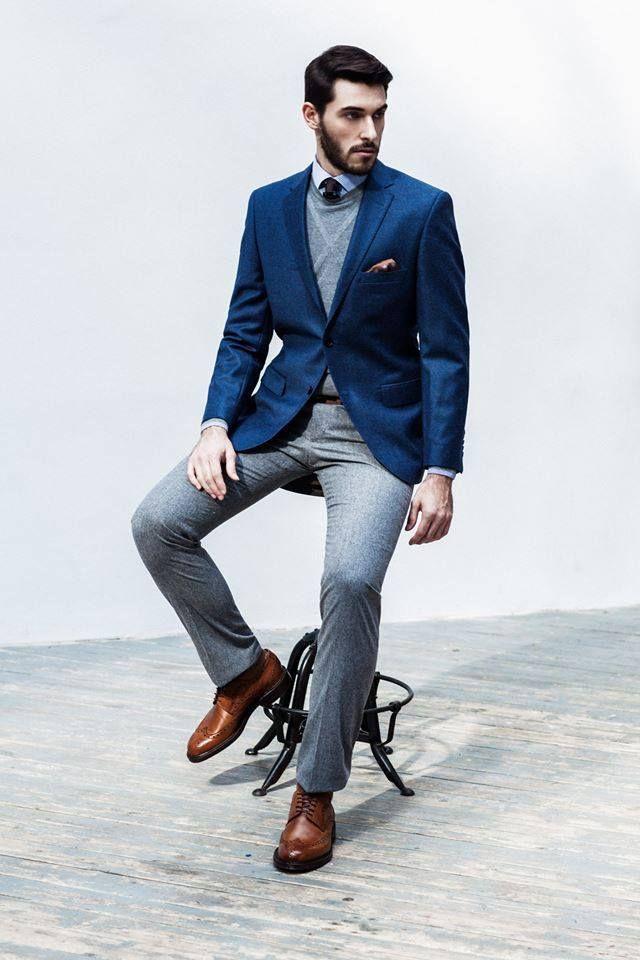 The Windsor Knot Men's Style Suit Костюм Мужской гардероб Мужская мода
