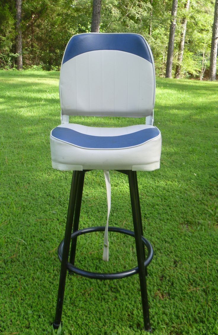 Boat Seat Bar Stool A Little Bit Different
