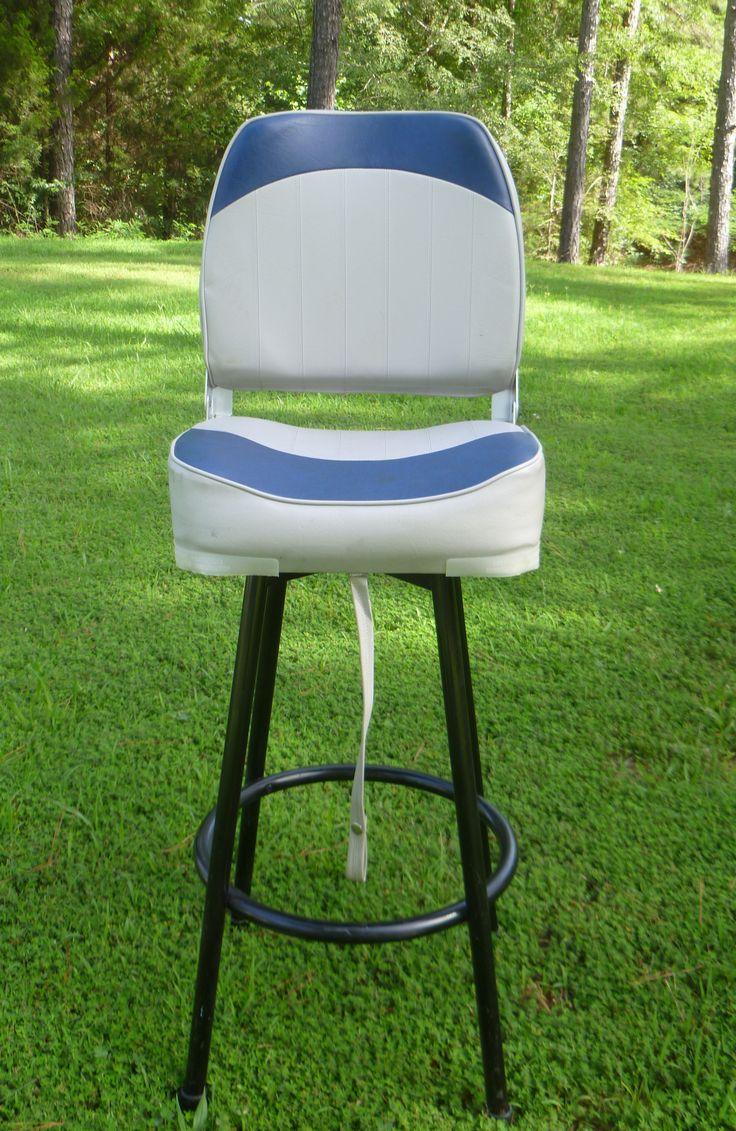 Boat Seat Bar Stool Bar stools, Diy modern furniture