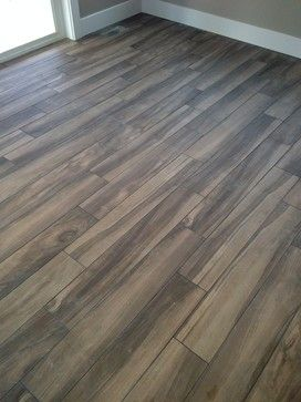 Kaden Walnut Floor Lowes With Charcol Grout Home Depot