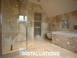 Approved by Durvit & Vilroy & Bosch bathroom fitters london and essex we offer bespoke quality service from design to installation. All bathroom installations carry a 5 year guarantee.