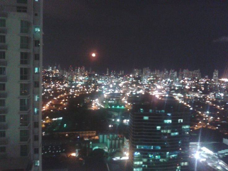 My city of the blinding lights...