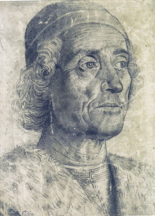 "Andrea Mantegna ""Portrait of a Man"", 1470-75 #TuscanyAgriturismoGiratola"