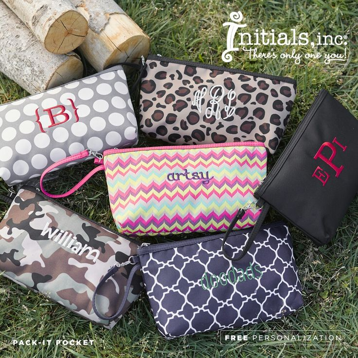 """Initials, Inc. """"Pack-It-Pocket"""""""