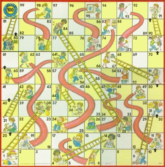 Chutes and Ladders therapy adaptation