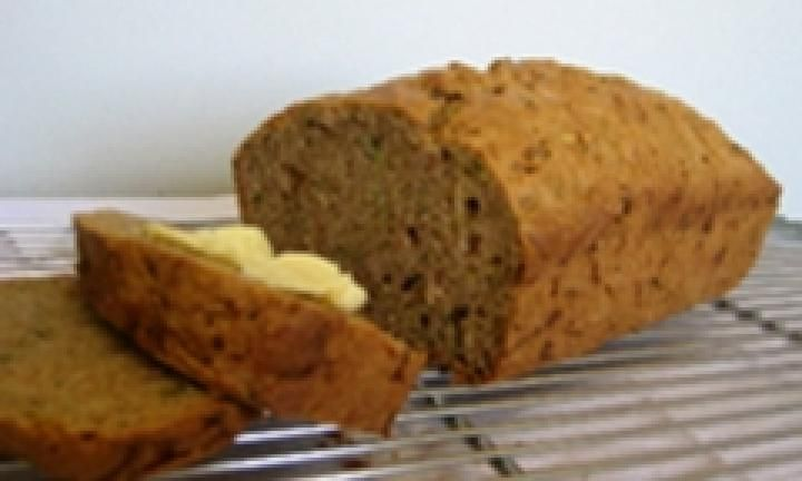Make this alternative to banana bread when you have a glut of zucchini to hand. Moist and spicy, thanks to the cinnamon and allspice mix, it's a healthy and delicious lunch box filler.