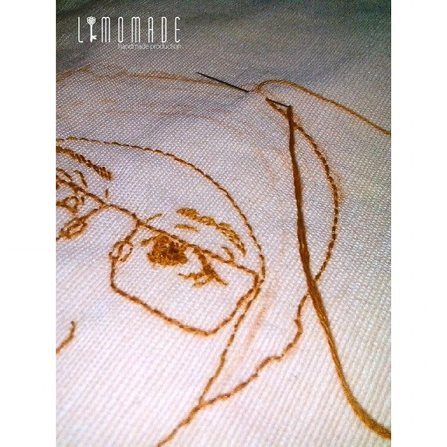 #handembroidery #embroidery #embroiderypattern #cute #craft #etsy #etsyshop #limomade#limitededition #semarang #indonesia