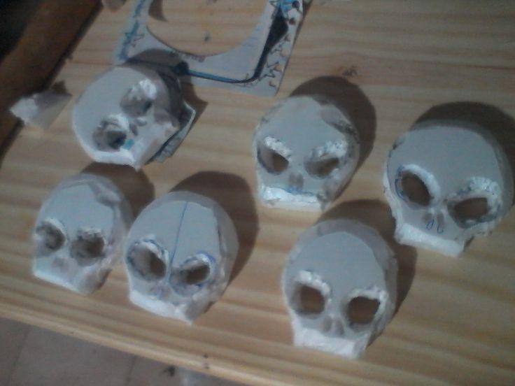 recorte de cráneos