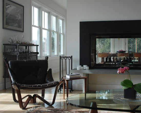17 Best Ideas About See Through Fireplace On Pinterest