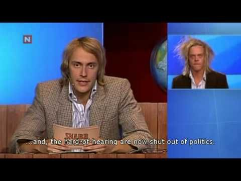 News for the hard-of-hearing [eng. subtitles] Raske Menn