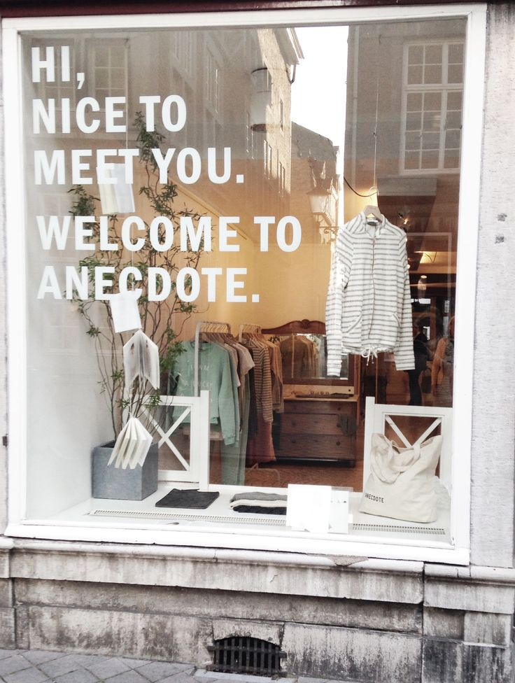 Hi, Nice to meet you. Welcome to Anecdote Maastricht. www.anecdote.nl