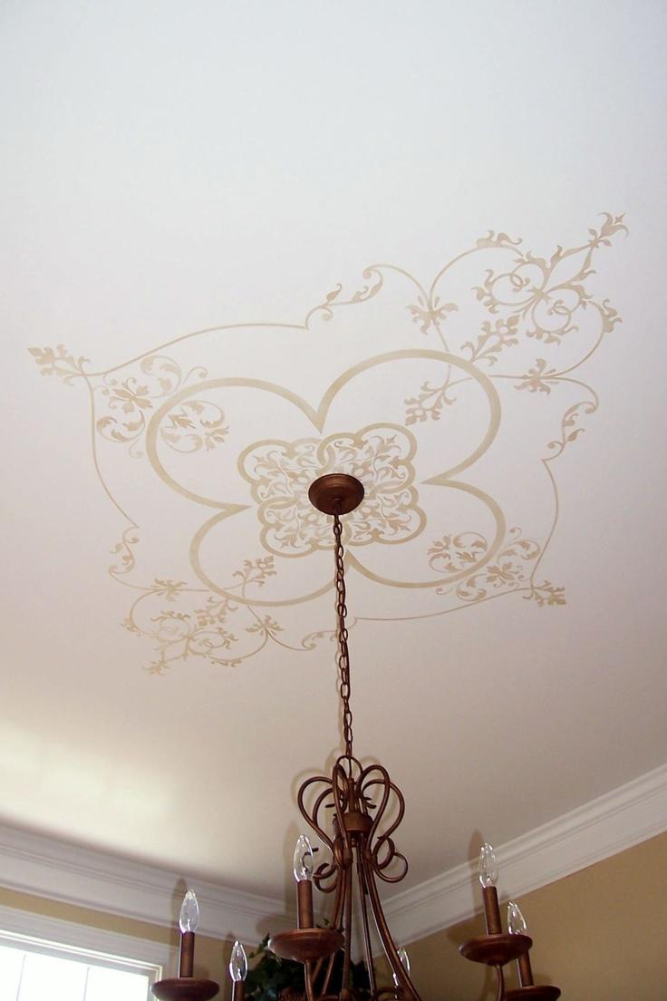 Custom Design Ceiling Medallion Custom Designs Pinterest