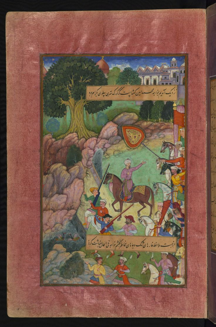 On their way to Hindustan, Babur and his men stop for the night before crossing the Indus river.W596