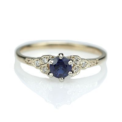 Replica Art Deco Sapphire Engagement ring – 3188-03                                                                                                                                                                                 More