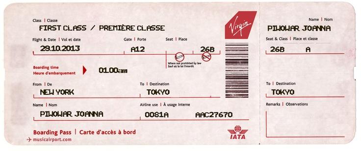 Un billet d'avion ️ | Pack départ | Pinterest