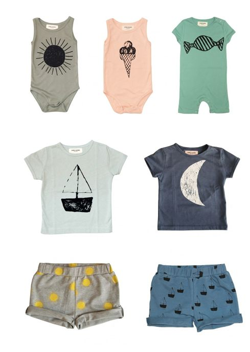 simple design clothing. perfect for little boys. and oh so cute!