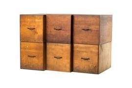 Storage Boxes  Industrial, Traditional, Wood, Decorative Object by Lee Stanton
