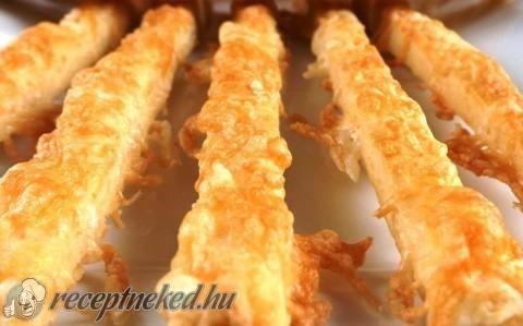 Vendégváró sajtos ropogós