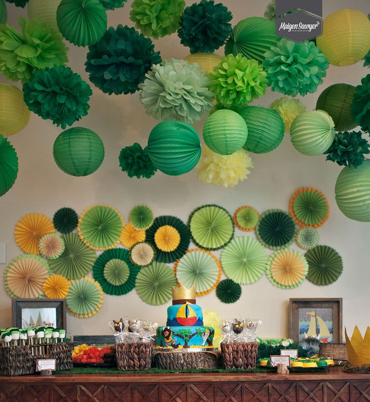 """Themed Birthday Party """"Where The Wild Things Are"""" 