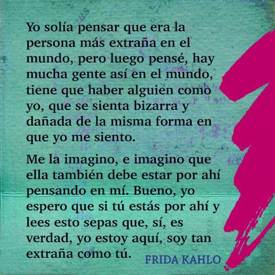 Frida Kahlo: Sus Palabras - mom.me
