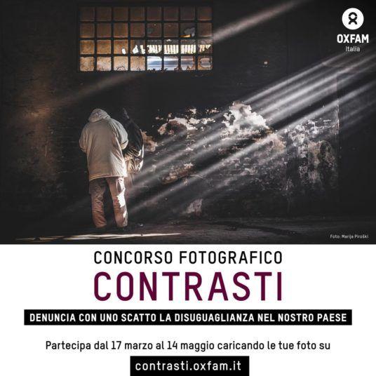 Concorso fotografico: le tue fotografie per portare alla luce la disuguaglianza nel nostro paese ed essere più forti nella sfida all'ingiustizia.