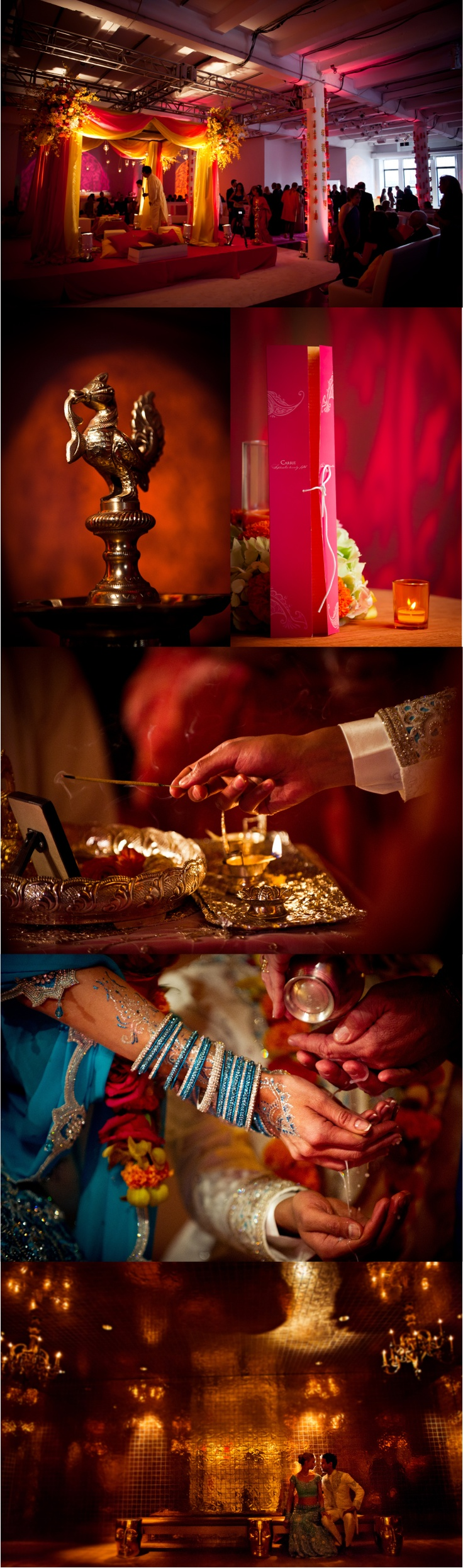 ceremony of a multi-cultural Indian wedding by David Tutera (!!) #weddingphotography