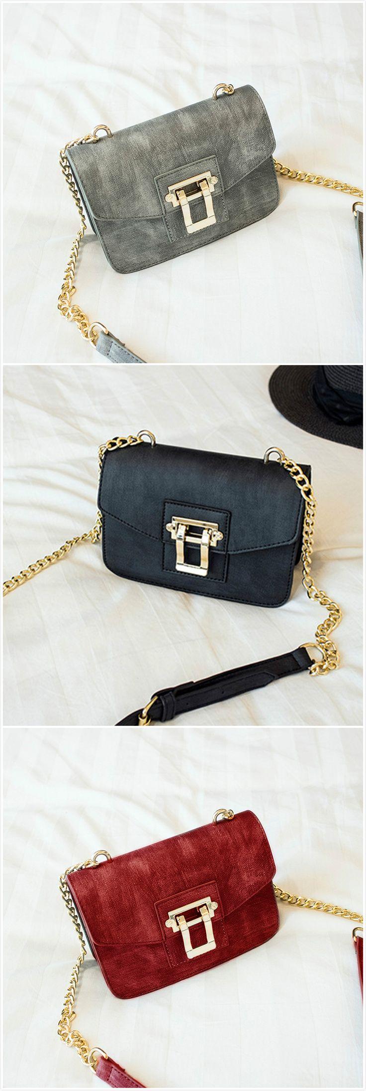 Fashion Small Cross Chain Shoulder Bag