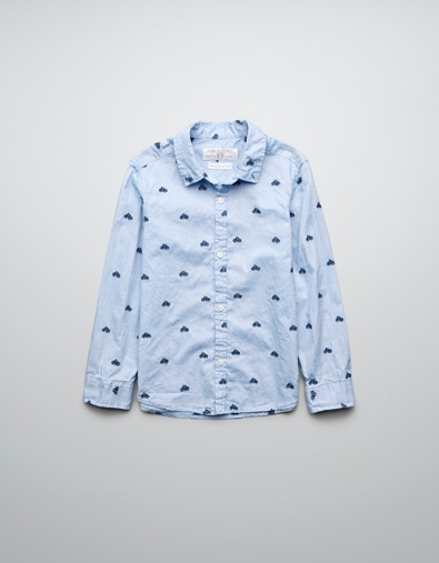 EMBROIDERED BICYCLE SHIRT