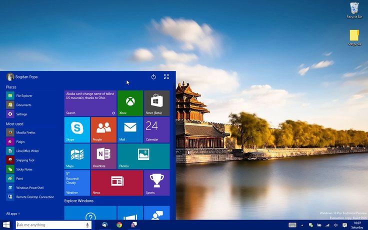 This Is the New Windows 10 Start Menu/Start Screen