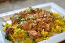 My FAVORITE:  Chicken Tikka Masala