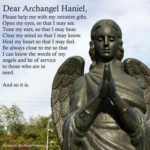 Dear Archangel Haniel...                                                                                                                                                                                 More