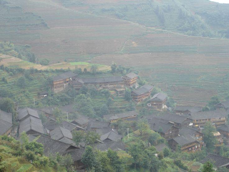 Terrace farming town Photo - Visual Hunt