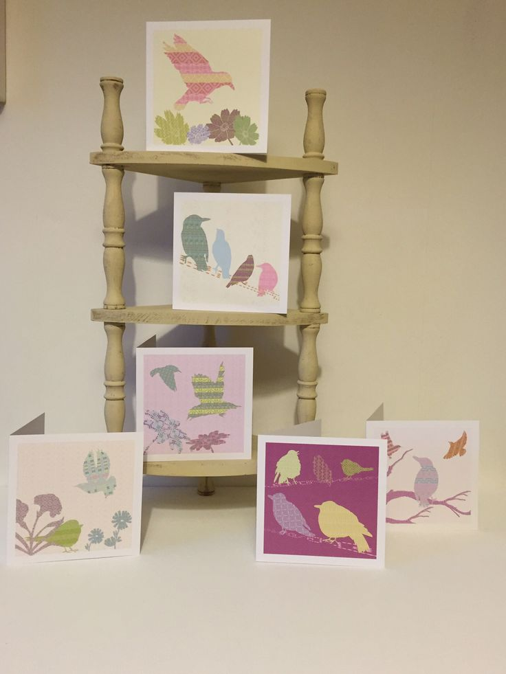 Shetland Starlings Greeting Cards, Designed and Made in Shetland Islands