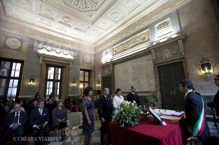 Civil ceremony in Turin,Piedmont-ITALY  www.weddingplanneritaly.co.uk