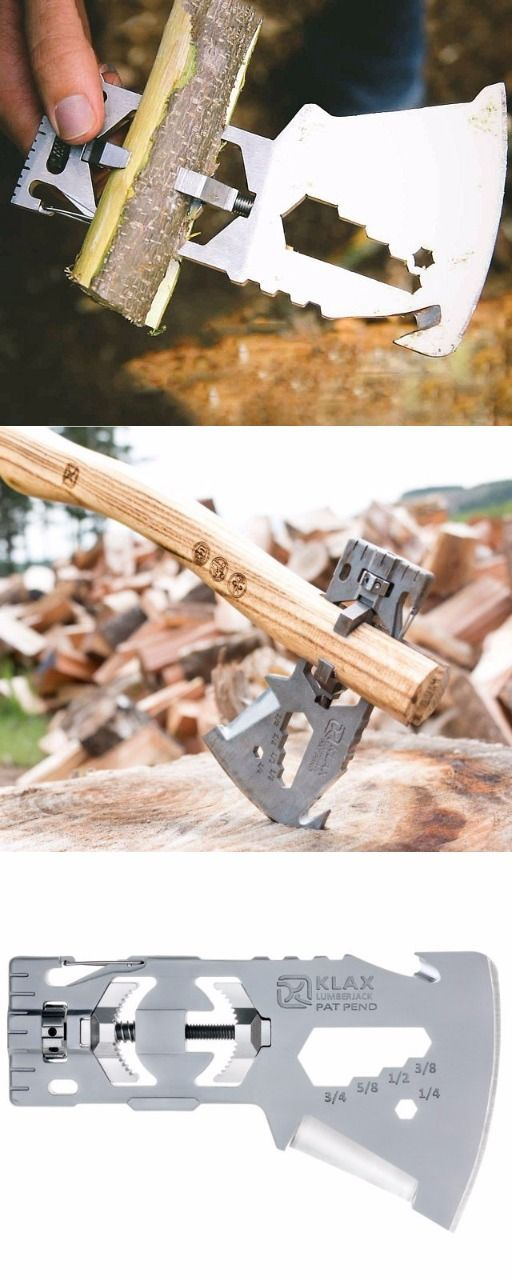 KLAX - The Versatile Light-Weight Multi-Tool Axe from Klecker Knives @thistookmymoney