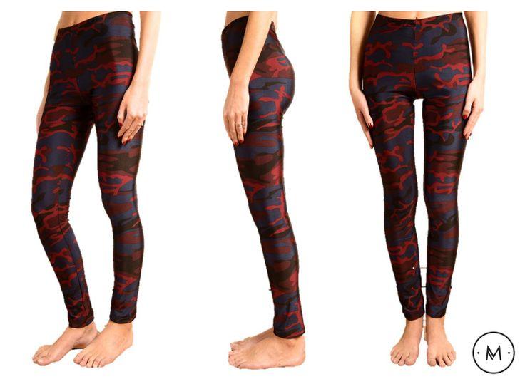 Leggings Camufladas Shop Online www.macci.cl (Envios a todo Chile)