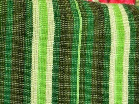 Stoff Streifen - Fester farbenfroher Ethno-Stoff  FB240 100%BW - ein Designerstück von Stoff-Wichtelino bei DaWanda