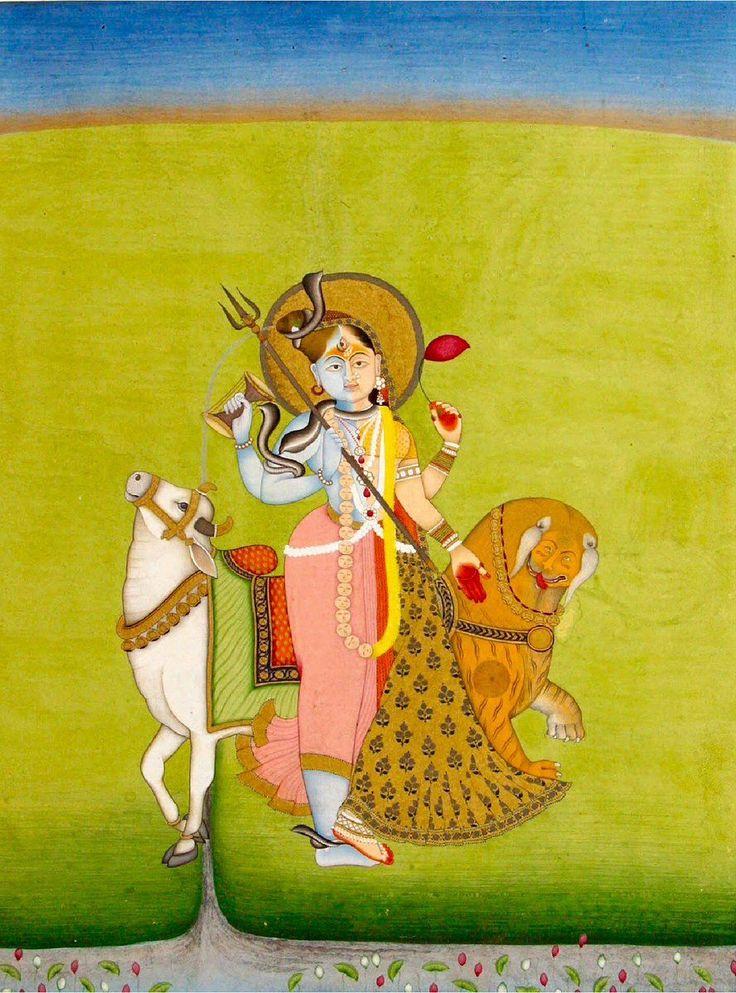 Shiva and Parvati - Ardhanarishvara