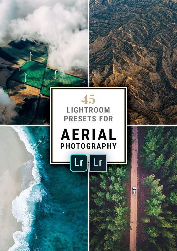 The best Lightroom Presets for Aerial Photography with drones