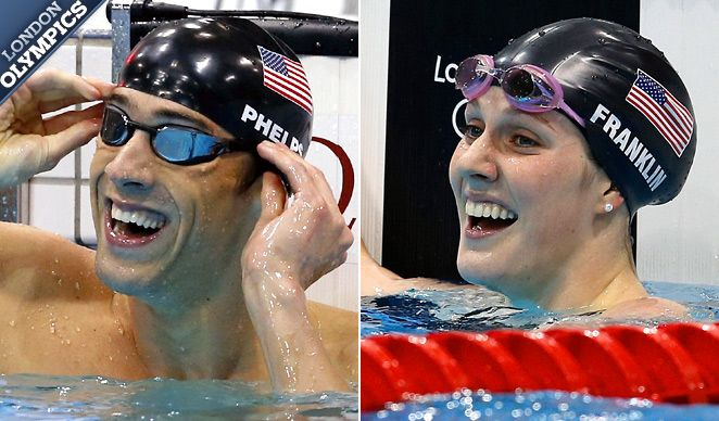 You have made us proud! Michael Phelps & Missy Franklin