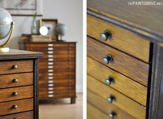 Re-Love Project…Kristine Franklin's chest of drawers using #FeastWatson Prooftint stain and Scandinavian Oil. Amazing! @thepaintedhive #relove