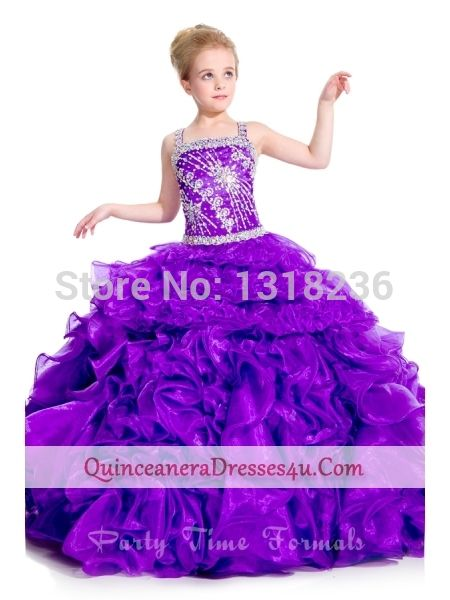 New vestido de baile Pageant vestidos de Organza Beading lantejoulas plissado Backless andar de comprimento vestidos menina em Vestidos de Dama de Honra de Casamentos e Eventos no AliExpress.com   Alibaba Group